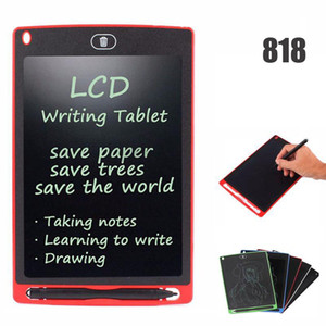 50818D 8.5 inch LCD Writing Tablet Memo Drawing Board Blackboard Handwriting Pads With Upgraded Pen for Kids Office One Butt Christmas gifts