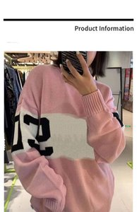 Women Clisscial Sweater Wool Quantity Winter Outwear Lady Sweatshirts Fashion Style Tops Embroidery Sweaters Free Size