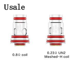 Uwell Aeglos Bobines 0.8ohm 0.23ohm UN2 Meched-H remplacement de bobine pour Aeglos Pod Mod Kit 100% Original