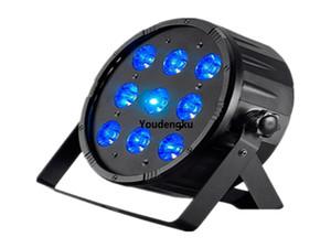 10 pcs lot led par 9x18w rgbwa uv 6in1 kit for par 64 led club disco party light