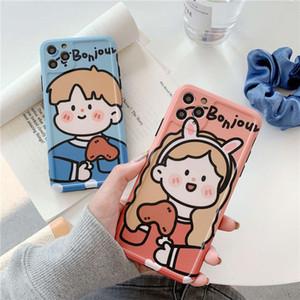 Coppia mobile Boy Phone Girl 11 Case X11Promax Carino MaxPro Soft