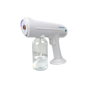 1300W Cordless Nano Steam Blue Light Spray Disinfection Sprayer Gun Household Rechargeable Battery Wireless Automization CCA12632