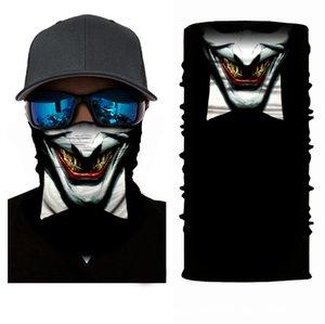 10pcsxunhui Chance de coiffe d'équitation extérieure changeante Clown Magic Sports Coiffure Polyester Animation de séchage rapide