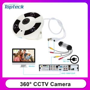KKMOON® HD 2000TVL 1080 P 1.7mm Balıkgözü 360 ° Panoramik Güvenlik CCTV Kamera Ev Surveillance Pal Sistemi
