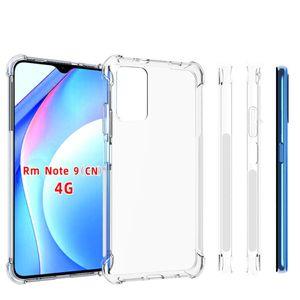 Para Xiaomi Redmi Nota 8 Pro Anti Choque Clear TPU TPU Capa Capa Nota 9 4G 5G 10x 9S Pro Max