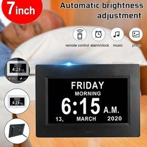 Dijital Po Çerçeveleri 7 inç HD Çerçeve 1024x600 Ultra-ince LED Elektronik LCD Çerçeve1