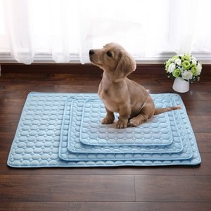 Pet Dog Summer Cooling Mats Blanket Ice Cats Bed For Sofa Portable Tour Camping Yoga Sleeping Massage Accessories