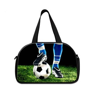 High Quality Travel Pouch for Gym Football Printed on Shoulder Journey Bag Name Brand Duffel Bags for Drop Shopping Side Bags for Traveling