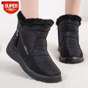 Stivali da donna 2020 Nuovi stivali invernali per le donne Impermeabile Snow Snow Snow Botas Mujer Zipper Ankle Tacco basso Tacchi invernali # YK5S