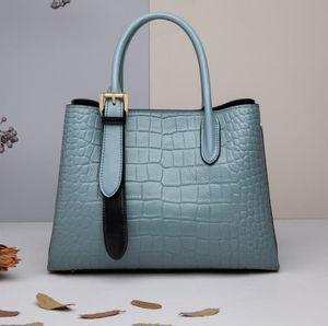 Jul leather handbag women's large capacity ladies bag 2020 new tide fashion shoulder slung commuter handbag