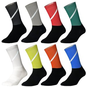 Reflective Compression Cycling Socks Men Women Profession Bike Bicycle MTB Sports Running Socks Breathable Sneakers Sock
