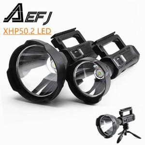 Súper brillante LED Spotlights Portable Spotlights con P50.2 Soporte Montable de la Lámpara Adecuado para Expeditions, etc.1