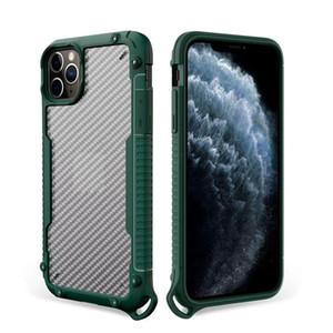 NOVITÀ PER IPHONE 12 MINI 11 PRO MAX X XR XS MAX 8 7 6 PLUS HYBRID ARMOR DIFENDER COUD PHONE CASSE CAPPELLO TRASPARENTE TRASPARENTE COPERTURA DURATA