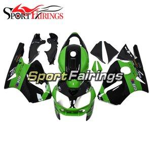 Sportbike Complete Abs Fairings для Kawasaki ZX12R 2002 2003 2004 2005 2006 ZX 12R 02 03 04 05 06 Комплект для тела Зеленый черный