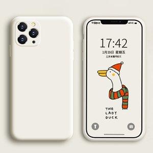 Soft Liquid Silicone Case For iPhone 11 Pro Max X XS Max XR SE 2020 7 8 6 6S Plus 2 iPhone11 7Plus 8Plus Luxury Phone Full Cover