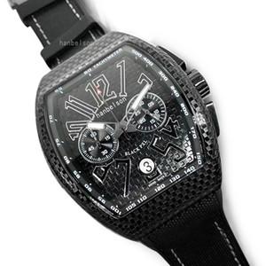 Новые винные бочонки типа стальные резиновые ремешки спортивные мужские часы Японии кварцевые движения хронология монр де Люкс