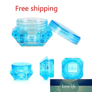 Colorful Refillable Bottle Portable Mini Empty Cosmetic Containers Eyeshadow Lip Balm Face Cream Blending Transparent Jars
