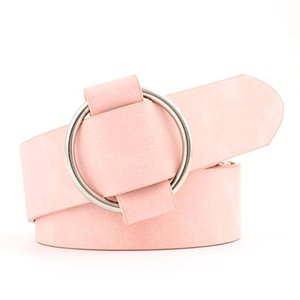 Creative Leather Jeans Dress Wide Belt Without Buckle Pin Female Lady Casual Fashion Smooth Buckle Long Waistband For Decoration
