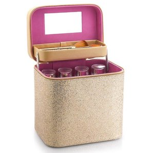 Multilayer Cosmetic Storage Box Women Large Capacity Professional Makeup Organizer Fashion Toiletry Portable Pretty Makeup Suitcase DHC5532