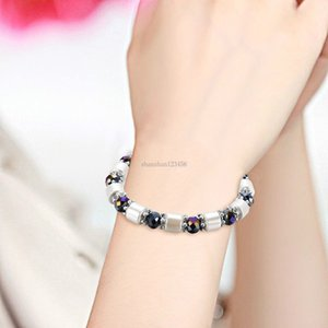Fashion Cylindrical magnetic beads bracelet for men women fashion jewelry gift will and sandy new