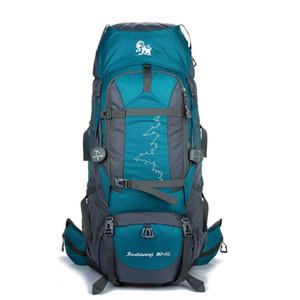 Outdoor Bags 85L Lage Capacity Camping Hiking Backpack Waterproof Anti-wear Climbing Shoulder Rucksack Men Women Sports Bag