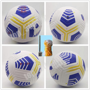 20 21 Club Serie A Liga-Match-Fußball 2020 2021 Größe 5 Bälle Granulat rutschfeste Fußball Freies Verschiffen Hochwertiger Ball