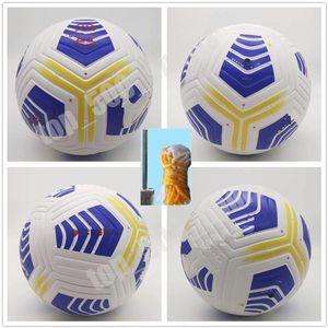 20 21 CLUB SERIE A Ligue Match Soccer Ball 2020 2021 Taille 5 Balls Granulés Football Slip-Résistant Livraison Gratuite Livraison Gratuite Ballon de haute qualité