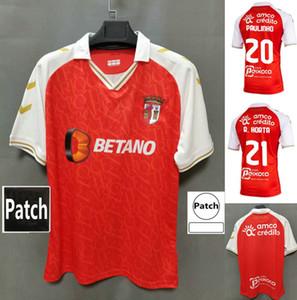 20 21 SC BRAGA Soccer Jersey 2020 2021 Sporting Clube de Braga Galeno Paulinho R.horta Novais Abel Ruiz Schettine Medeiros Camicie da calcio