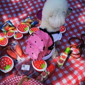 Evcil Hayvanlar Baskılı Omuz Çantası Yüksek Sokak Kişilik Pet Çanta Festivali Hediye Teddy Schnauzer Çanta Aksesuarları için
