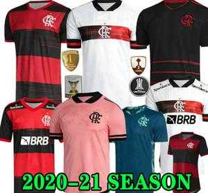 20 21 Flamengo Jersey 2020 2021 Flemish Guerrero Diego Vinicius JR maglie di calcio Goleiro Flamengo Gabriel B Sport calcio uomo camicia donna