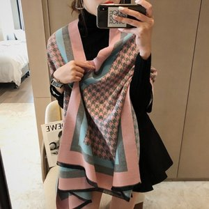 scarfs for women 100% Cashmere Scarf Double faced printing Long Best Quality Classic Brand Warm Scarves Pashmina Scarf 180x65cm