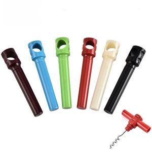 Apribottiglie Semplice Pratico Vino rosso Vino Plastica Cacciavite Home Creativo Multi Funzione Cavatappi Opener Vino Accessori da cucina EWD3088