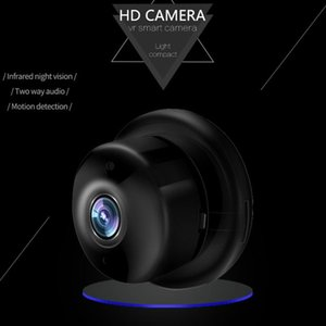 Two Way Audio Fish EyeInternet Network HD Video Camera CMOS Multi-platform Viewing H.264 Max Support 128GB TF Card with Wifi