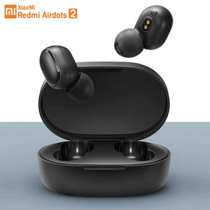 Stock Original Xiaomi Redmi Airdots 2 TWS Earphone True Wireless Bluetooth 5.0 Stereo bass With Mic Handsfree Earbuds AI Control