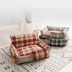 2020 pet dog cat bed universal removable and washable kennel summer mat creative pet supplies