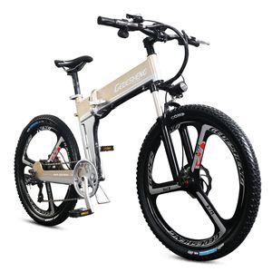 26 Electric bicycle 48v hidden lithium battery eMTB high speed motor bike ABS brake Fold mountain