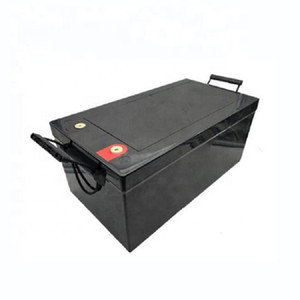 Deep cycle 12v lifepo4 lithium ion battery 12v 300ah with bms for solar systems and RV