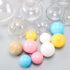 Sfera della candela della palla muffa del cioccolato della muffa del cioccolato del materiale fai da te PC di grado di qualità del PC di plastica di plastica degli stampi xD24339