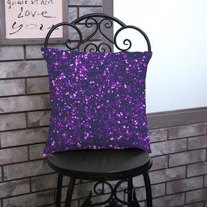 Dazzling colour printed pillowcase polyester-linen pillowslip home sofa office cushion cover Cushion Cover Decor Pillow 45*45cm CCA2699