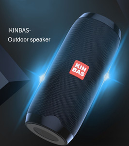 Subwoofer À Prova D 'Água Portátil Bluetooth Speaker Surround Loudspeaker TF / AUX / FM Rádio Esportes ao ar livre 10 horas Playtime HD Audio Speakers