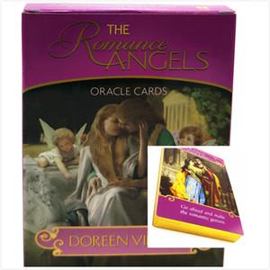 Romance Angels Oracle Cartes Deck Mystérieux Cartes de tarot Mystérieux Jeu de carte Lire la carte de carte Jeux de carte Jouets Toys Anglais Version
