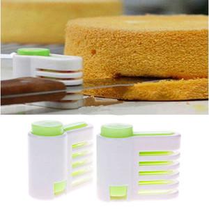 2 PCS SET Bread Slicer 5 Layers Bread Cutter Bread Knife Splitter Toast Slicer Baking Tool Kitchen Gadgets