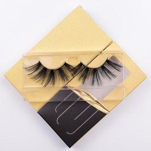 Makeup Eyelashes Black Thick Fake Eyelash Fluffy Soft Wispy Volume Natural long Cross False Eyelashes Reusable Eyelash