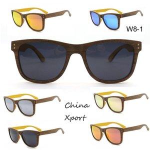 Солнцезащитные очки Удобный тонкий слой Деревянная рама Мужчины Женщины Один из S 2021 Ницца Ecofriendly1