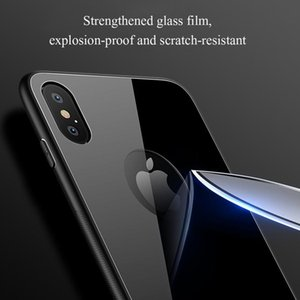 Tempered Glass Phone Case For Iphone X Xs Max 7 8 Plus 6 6s Plus 11 Pro Max 11 Hard Protective Glass sqcxnf longdrake