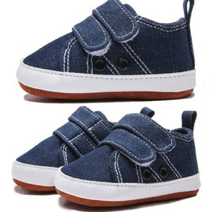 Baby Top Topborn Boys 0-18M Shoes Toddler Fashion Canvas Shoes Sneakers Baby Boy Soft Sole Crib Shoes