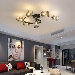 Nordic lamp Glass LED ceiling lights modern lights ceiling lamps dining living room bedroom kitchen lighting fixture