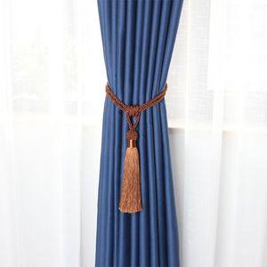 1 stück Glatte Quaste Fransen Vorhang Raffback Schnalle Seil Holdbacks Fenster Drapes Krawattenrücken Vorhang liefert Raumzubehör H Jlljzc