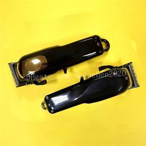 Марка 8184 Magic Metal Checkper Checkper Electric Razor Men Steel Head Brolive Trimmer Trimmer Gold Red US / EU / UK версия