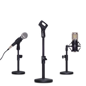 Professional Adjustable Foldable Desktop Table Holder Microphone Tripod MIC Stand Mount Clip Mount Shock For Karaoke